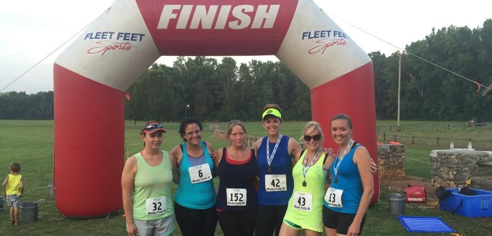Mission Firefly 5k Race Results