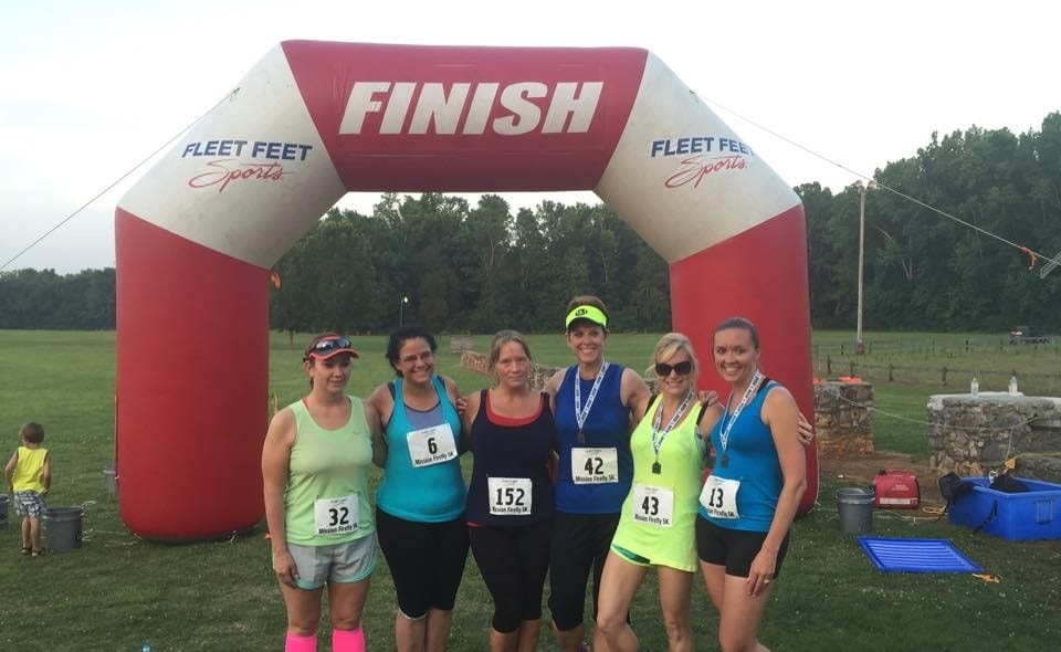 Mission Firefly 5k Race Results